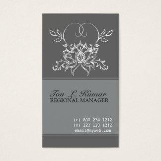 Lotusblommaeleganthelig Visitkort