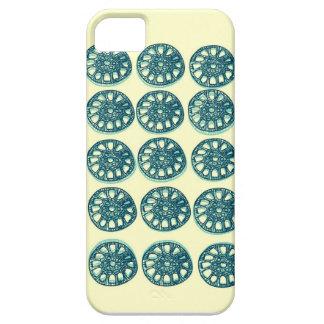 Lotusblommastemfodral iPhone 5 Skydd