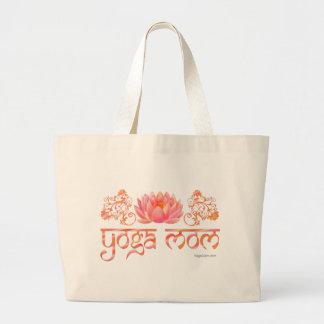 Lotusblommayogamamma Jumbo Tygkasse