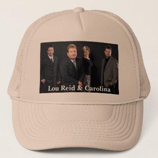 Lou Reid & Carolina hatt Truckerkeps