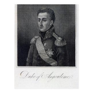 Louis-Antoine de Bourbon Hertig av Angouleme Vykort