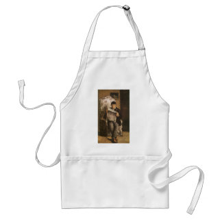 Louis Auguste Cezanne far av konstnärläsningen Förkläde