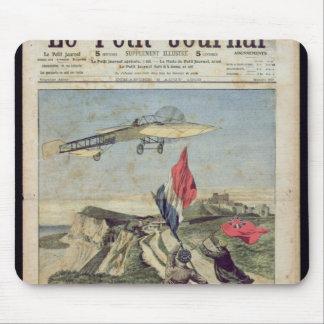 Louis Bleriot landning på Dover Musmatta