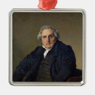Louis-Francois Bertin 1832 Julgransprydnad Metall