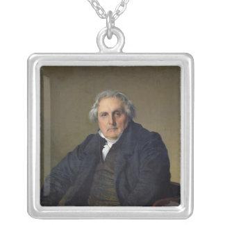 Louis-Francois Bertin 1832 Silverpläterat Halsband