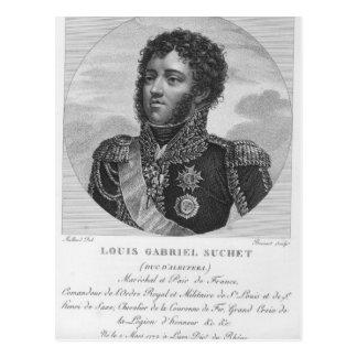 Louis-Gabriel Suchet hertig av Albufera Vykort