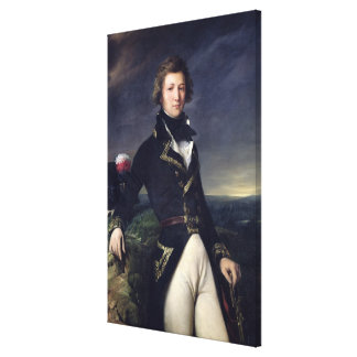 Louis-Philippe d'Orleans 1834 Canvastryck