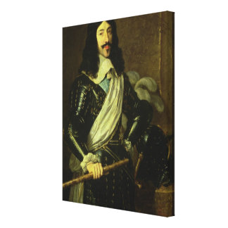 Louis XIII (1601-43) (olja på kanfas) Canvastryck