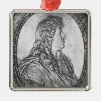 Louis XIV 2 Julgransprydnad Metall
