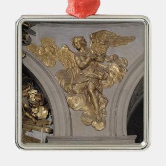 Louis XIV stilängel, från bågen till Julgransprydnad Metall