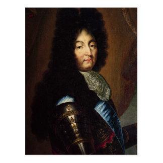 Louis XIV Vykort
