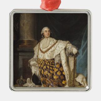 Louis XVI i Coronationskrud, efter 1774 Julgransprydnad Metall