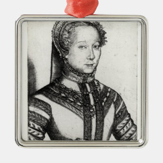Louise Labe LaBelle Cordiere, 1555 Julgransprydnad Metall