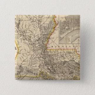 Louisiana 5 standard kanpp fyrkantig 5.1 cm