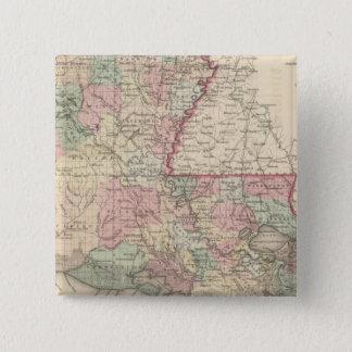 Louisiana 6 standard kanpp fyrkantig 5.1 cm