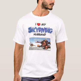 Louisiana AirSports älskar jag min skydiving make T Shirts