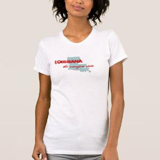 Louisiana den statliga vampyren tshirts