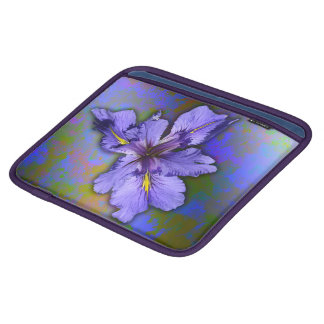 Louisiana Iris - iPad-/Macbookluftsleeve iPad Sleeve