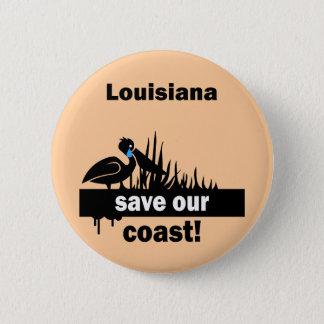Louisiana spara vår kusten standard knapp rund 5.7 cm