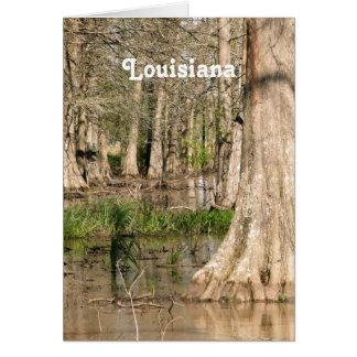 Louisiana träsk OBS kort