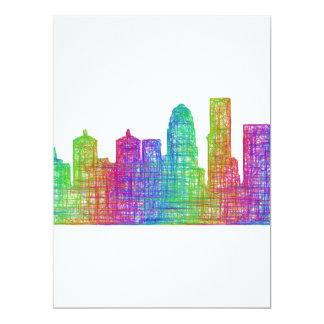 Louisville horisont 16,5 x 22,2 cm inbjudningskort