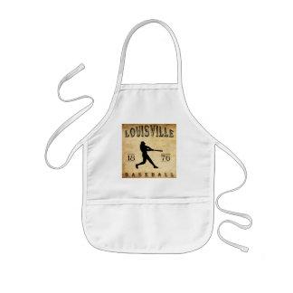 Louisville Kentucky baseball 1876 Barnförkläde