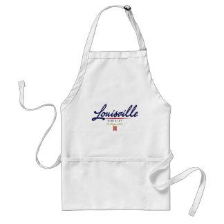 Louisville skrivar förkläde