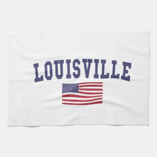 Louisville US flagga Kökshandduk
