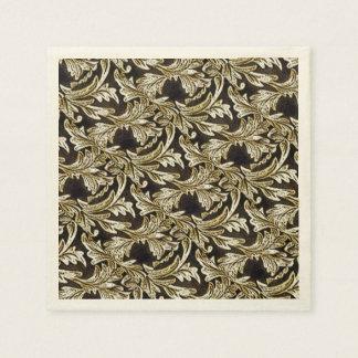 Löv av brons pappersservett