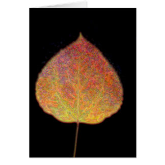 Löv Notecard OBS Kort