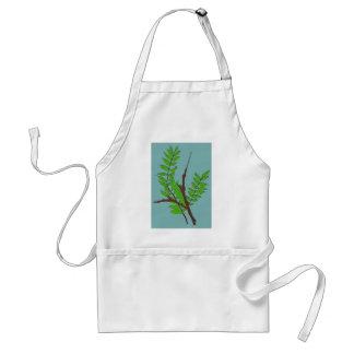 Löv och ris förkläde