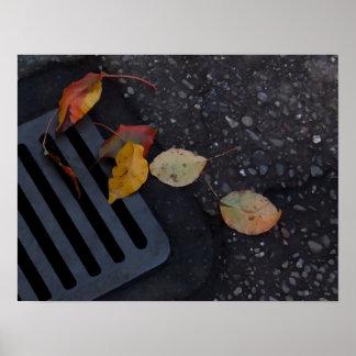 Löv och spisgaller poster
