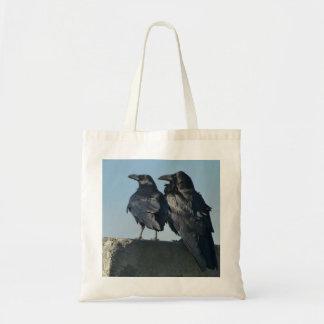 Love birds budget tygkasse