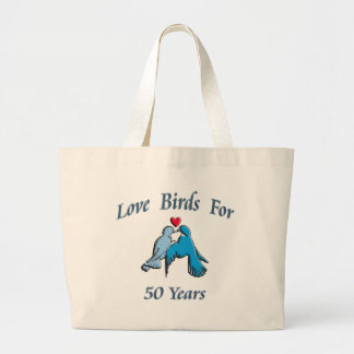 Love birds jumbo tygkasse