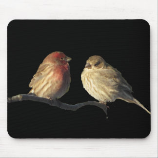 Love birds Mousepad Musmatta