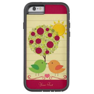 Love birds tough xtreme iPhone 6 skal