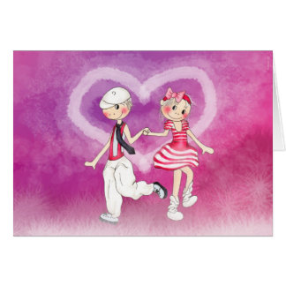Love card hälsningskort