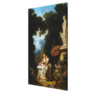 <Love Letters> vid Jean Honore Fragonard Canvastryck