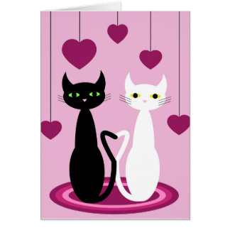 Lovecats Hälsningskort