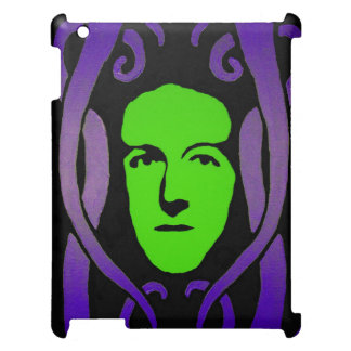 Lovecraft vid Andy vit iPad Fodral