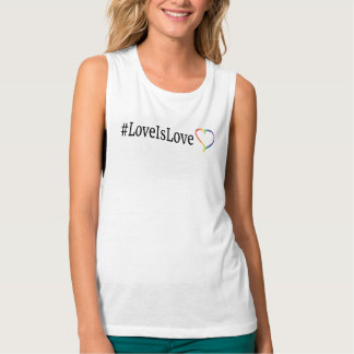 LoveIsLove muskeltanktop Brottarlinne