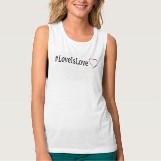 LoveIsLove muskeltanktop Brottarlinne