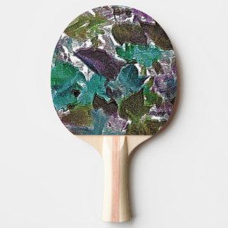 Lövkonst på pingen Pong paddlar Pingisracket