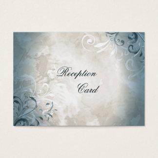 Lövverk för vintage för kort för bröllopmottagande