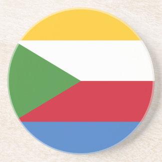 Lowen kostar! Comoros flagga Underlägg