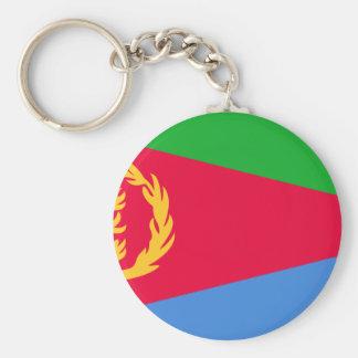 Lowen kostar! Eritrea flagga Rund Nyckelring