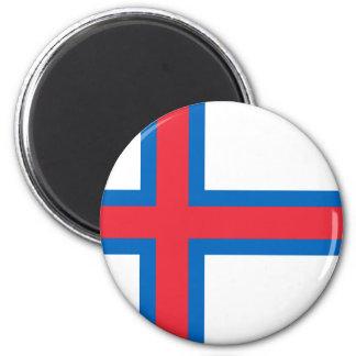 Lowen kostar! Faroe Island flagga Magnet
