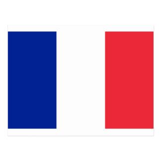 Lowen kostar! Frankrikeflagga Vykort