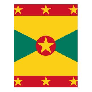Lowen kostar! Grenada flagga Vykort