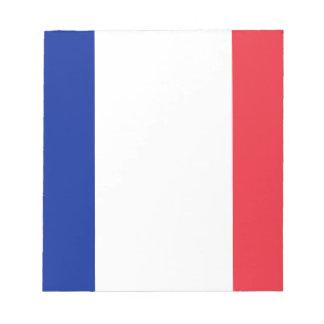 Lowen kostar! Guadeloupe flagga Anteckningsblock